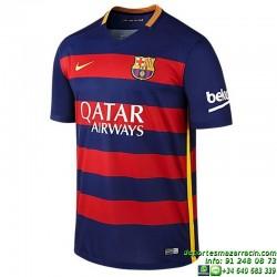 Camiseta BARCELONA 2015-2016 JUNIOR azulgrana home nike oficial futbol equipacion producto licenciado niño ultima 659032-422