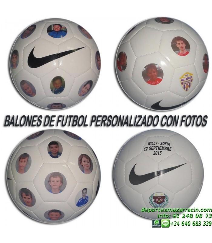 miseria Falange Jarra  BALON futbol PERSONALIZADO FOTOS NIKE imagenes poner nombre fecha numero  escudo SC1911-117