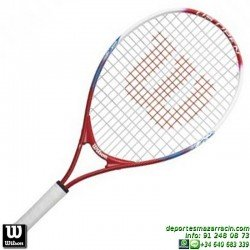 Raqueta Tenis Niño WILSON US OPEN 23 junior niña WRT21020U personalizar