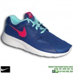 Nike KAISHI MARINO ROSA Zapatilla ROSHE RUN mujer 705492-401 SNIKER chica personalizar deporte sportwear footwear