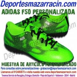 PERSONALIZAR ADIDAS F50