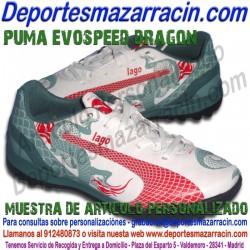 PERSONALIZAR botas de futbol PUMA EVOSPEED EVOPOWER KING grabar poner estampar nombre numero bandera escudo