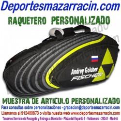 PERSONALIZAR Raquetero de Tenis