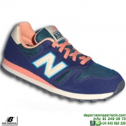 NEW BALANCE 373 AZUL zapatilla CHICA MUJER MODA Footwear WL373AD sportwear retrorunning clasica personalizable