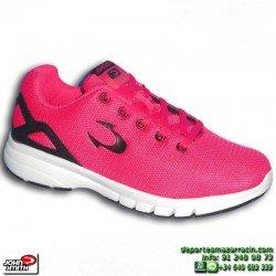 Zapatilla Deporte Mujer John Smith RUDE W Fucsia CAMINAR gimnasio chica NYLON footwear personalizable