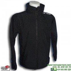 Chaqueta deportiva John Smith SOTRAGERO Negro capucha hombre chico poliester capucha sportwear oferta barata