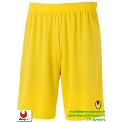 UHLSPORT Pantalon Corto CENTER BASIC II SHORT Futbol AMARILLO 1003058.05 color equipacion short deporte talla hombre