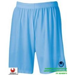 UHLSPORT Pantalon Corto CENTER BASIC II SHORT Futbol AZUL CELESTE 1003058.10 color equipacion short deporte talla hombre