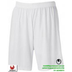 UHLSPORT Pantalon Corto CENTER BASIC II SHORT Futbol BLANCO 1003058.01 color equipacion short deporte talla hombre