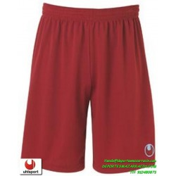 UHLSPORT Pantalon Corto CENTER BASIC II SHORT Futbol ROJO BURDEOS 1003058.09 color equipacion short deporte talla hombre