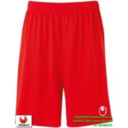 UHLSPORT Pantalon Corto CENTER BASIC II SHORT Futbol ROJO 1003058.02 color equipacion short deporte talla hombre