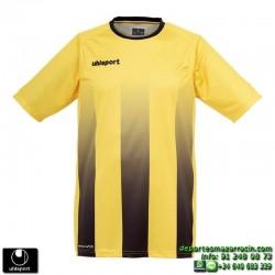 UHLSPORT Camiseta Rayas STRIPE SHIRT Futbol AMARILLO NEGRO 1003256.05 color equipacion talla deporte