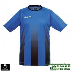 UHLSPORT Camiseta Rayas STRIPE SHIRT AZUL ROYAL NEGRO Futbol 1003256.08 color equipacion talla deporte