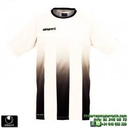 UHLSPORT Camiseta Rayas STRIPE SHIRT Futbol BLANCO NEGRO 1003256.09 color equipacion talla deporte