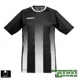 UHLSPORT Camiseta Rayas STRIPE SHIRT Futbol NEGRO BLANCO 1003256.02 color equipacion talla deporte