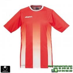 UHLSPORT Camiseta Rayas STRIPE SHIRT Futbol ROJO BLANCO 1003256.01 color equipacion talla deporte