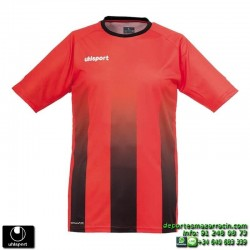 UHLSPORT Camiseta Rayas STRIPE SHIRT Futbol ROJO NEGRO 1003256.07 color equipacion talla deporte