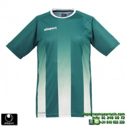 UHLSPORT Camiseta Rayas STRIPE SHIRT Futbol VERDE BLANCO 1003256.06 color equipacion talla deporte
