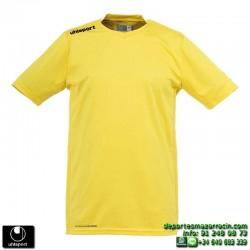 UHLSPORT Camiseta HATTRICK SHIRT Futbol color AMARILLO 1003254.05 equipacion talla deporte