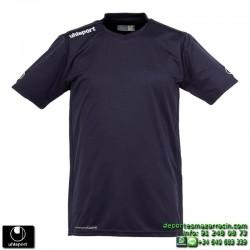 UHLSPORT Camiseta HATTRICK SHIRT Futbol color AZUL MARINO 1003254.03 equipacion talla deporte manga corta