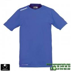 UHLSPORT Camiseta HATTRICK SHIRT Futbol color AZUL ROYAL 1003254.04 equipacion talla deporte manga corta