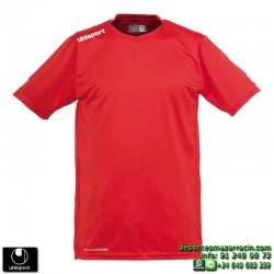 UHLSPORT Camiseta HATTRICK SHIRT Futbol color ROJO 1003254.01 equipacion talla deporte manga corta