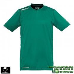 UHLSPORT Camiseta HATTRICK SHIRT Futbol color VERDE 1003254.06 equipacion talla deporte manga corta
