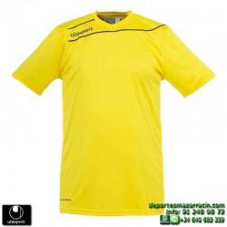 UHLSPORT Camiseta STREAM 3.0 Futbol color AMARILLO 1003237.05 equipacion talla deporte manga corta