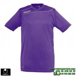 UHLSPORT Camiseta STREAM 3.0 Futbol color MORADO 1003237.20 equipacion talla deporte manga corta