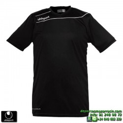 UHLSPORT Camiseta STREAM 3.0 Futbol color NEGRO 1003237.02 equipacion talla deporte manga corta