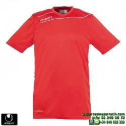 UHLSPORT Camiseta STREAM 3.0 Futbol color ROJO 1003237.01 equipacion talla deporte manga corta