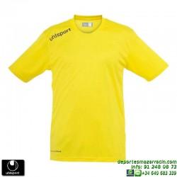 UHLSPORT Camiseta ESSENTIAL Futbol color AMARILLO 1002104.05 equipacion talla deporte manga corta