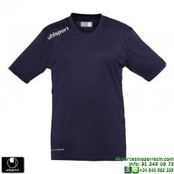 UHLSPORT Camiseta ESSENTIAL Futbol color AZUL MARINO 1002104.02 equipacion talla deporte manga corta