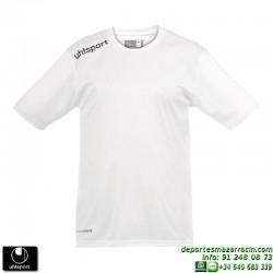 UHLSPORT Camiseta ESSENTIAL Futbol color BLANCO 1002104.09 equipacion talla deporte manga corta