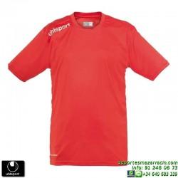 UHLSPORT Camiseta ESSENTIAL Futbol color ROJO 1002104.06 equipacion talla deporte manga corta