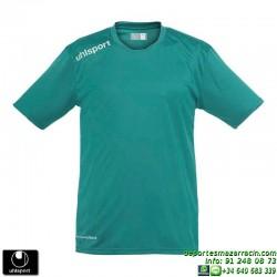 UHLSPORT Camiseta ESSENTIAL Futbol color VERDE 1002104.04 equipacion talla deporte manga corta