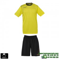 UHLSPORT Conjunto MATCH TEAM KIT Futbol color AMARILLO 1003161.04 equipacion camiseta pantalon talla deporte manga corta