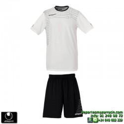 UHLSPORT Conjunto MATCH TEAM KIT Futbol color BLANCO 1003161.08 equipacion camiseta pantalon talla deporte manga corta