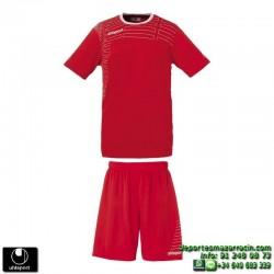 UHLSPORT Conjunto MATCH TEAM KIT Futbol color ROJO 1003161.01 equipacion camiseta pantalon talla deporte manga corta