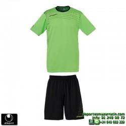 UHLSPORT Conjunto MATCH TEAM KIT Futbol color VERDE PISTACHO 1003161.09 equipacion camiseta pantalon talla deporte manga corta