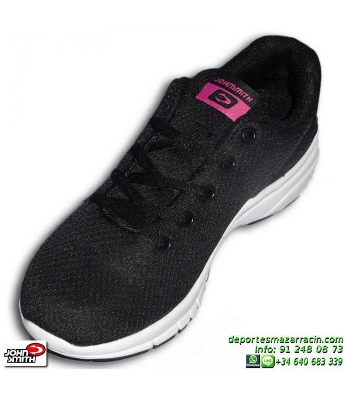 Sneakers Mujer Rude Negro Smith John Oferta Zapatilla 8n0OPwk