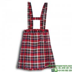 FALDA PLISADA uniforme Lerena colegio valdemoro