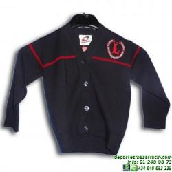 REBECA con botones uniforme Lerena colegio valdemoro