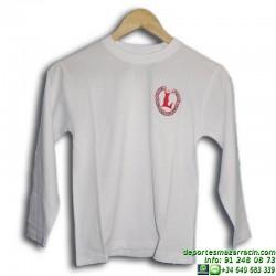 camiseta manga larga Chandal Lerena uniforme colegio valdemoro