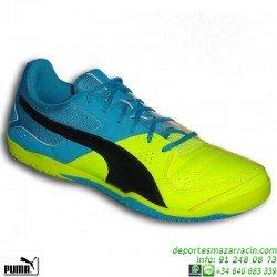 Puma GAVETTO Zapatilla Futbol Sala AMARILLO 103444-07 personalizar df47e3f40954c