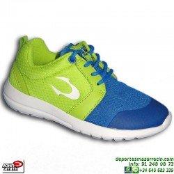 Sneakers Junior John Smith UROS JR Azul Estilo ROSHE RUN zapatilla moda footwear personalizable