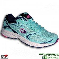 Zapatilla Deporte Mujer John Smith RANDER W Azul Celeste deportiva gimnasio chica personalizable