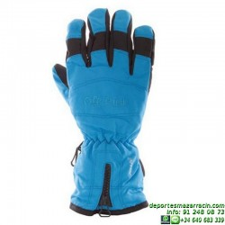 Guante de nieve Nylon classic color azul