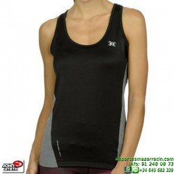 Camiseta Tirantes Mujer Deportiva Clima John Smith PAN Negro
