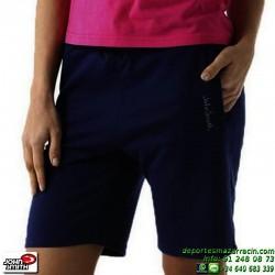 Pantalon Corto Algodon Mujer John Smith ESLAVA Negro short chica